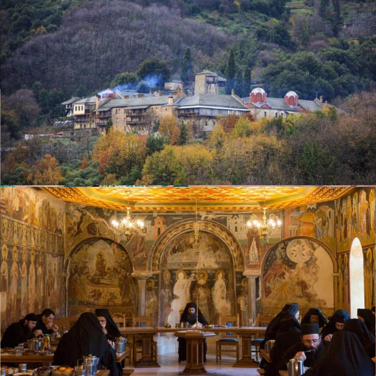 Vùng đất thiêng Athos ẩn chứa điều gì mà hơn một nghìn năm nay không có bóng dáng của phụ nữ