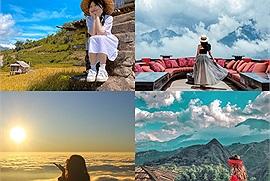 Du lịch Sapa tháng 10 ngắm bức tranh thiên nhiên nhuộm một màu vàng rực của những thảm lúa chín vàng