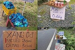 Ấm lòng tình người Việt Nam: những trạm đồ ăn, xăng 0 đồng khắp nẻo tiếp sức cho bà con từ miền Nam về quê