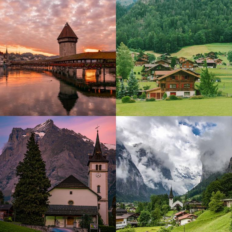 Lịch trình chi tiết 3 ngày khám phá những ngóc ngách đẹp rụng tim ở Thụy Sĩ, đất nước đắt đỏ bậc nhất của anh chàng Kiri