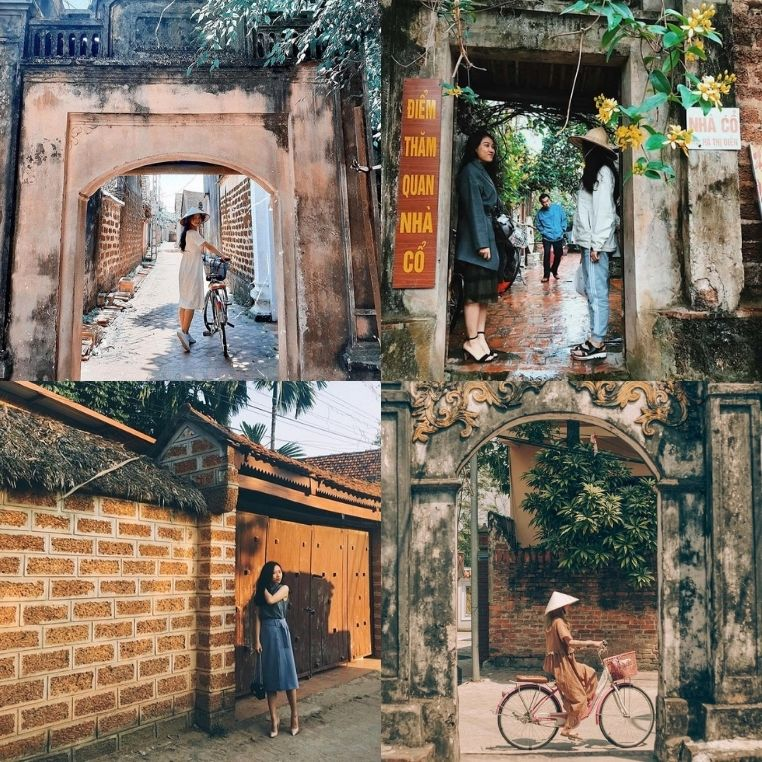 Một ngày rời xa khói bụi thành phố, làng cổ Đường Lâm chắc chắn là gợi ý tuyệt vời cho vé thăm cổ trấn xưa