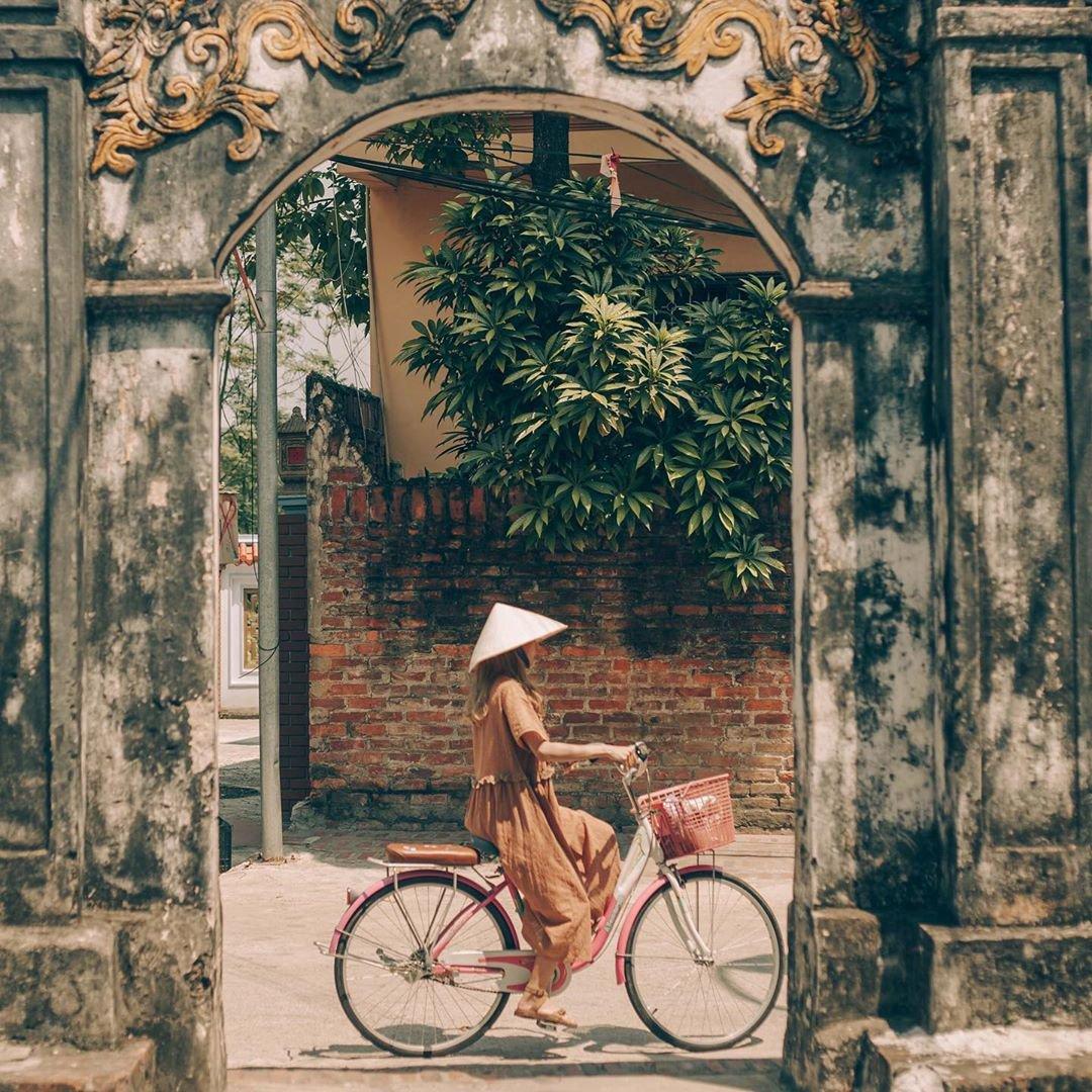 Kiến trúc cổ xưa tại làng cổ Đường Lâm đến nay vẫn còn nguyên vẹn