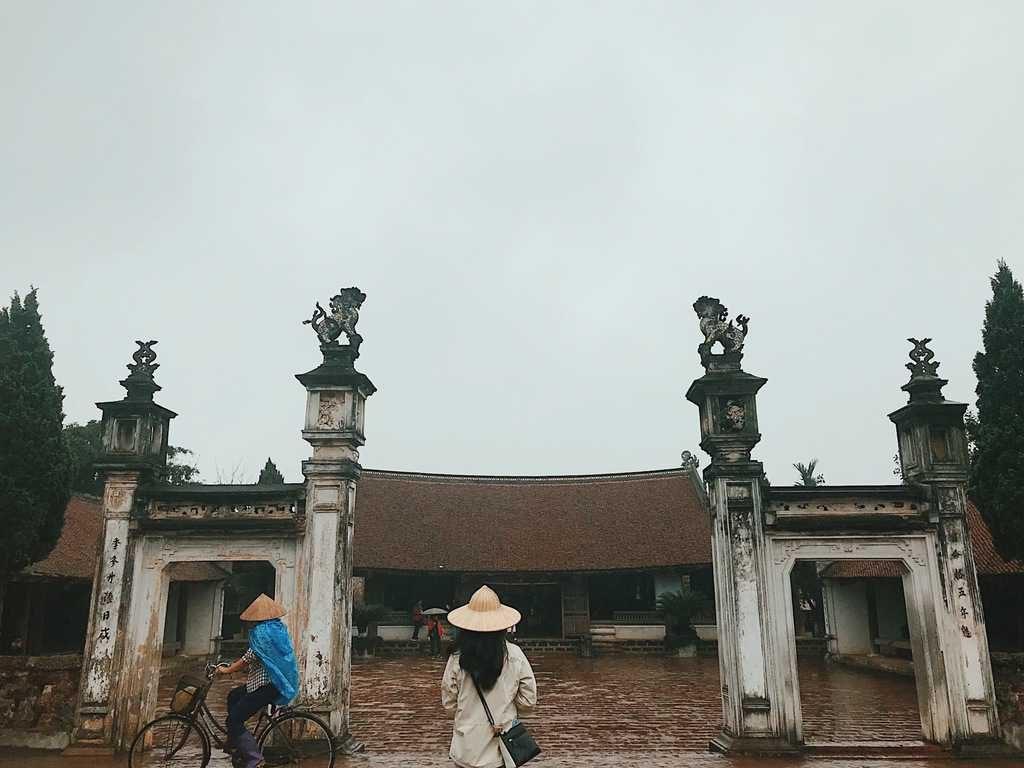 Đình làng Mông Phụ xây dựng cách đây 400 năm
