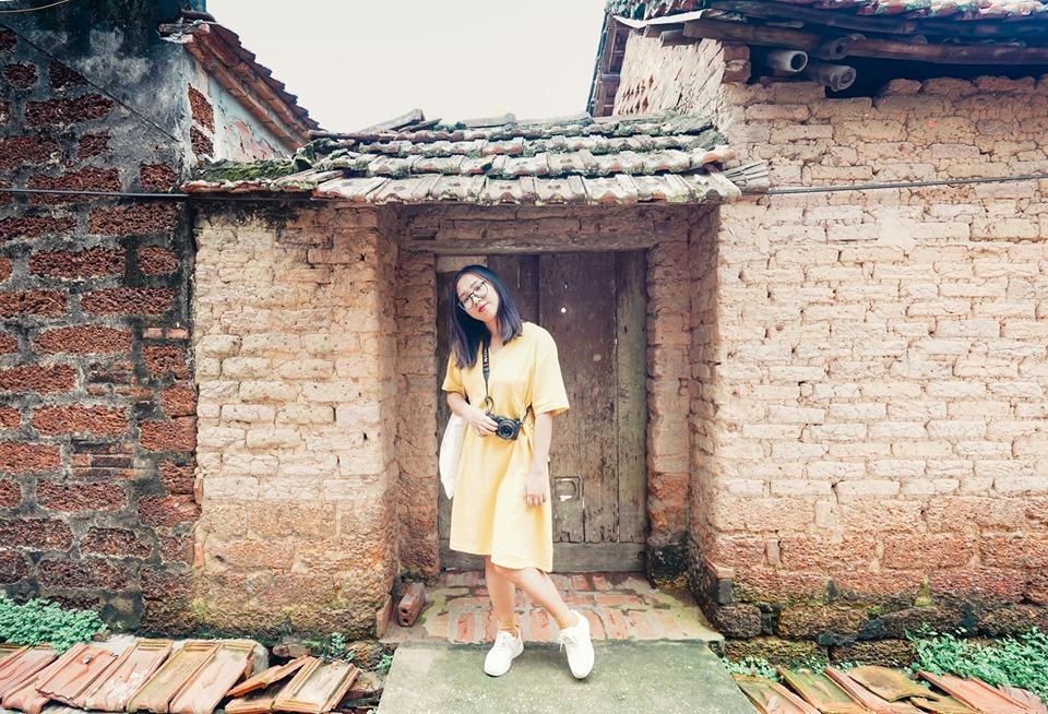 Check in làng cổ Đường lâm