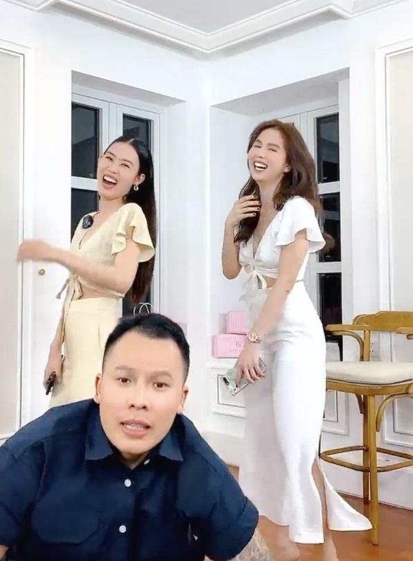 Vũ Khắc Tiệp, Ngọc Trinh song kiếm hợp bích bán hàng livestream