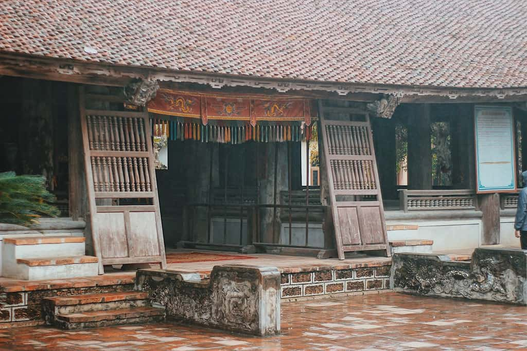 Căn nhà cổ của chị Dương Lan có kiến trúc độc đáo