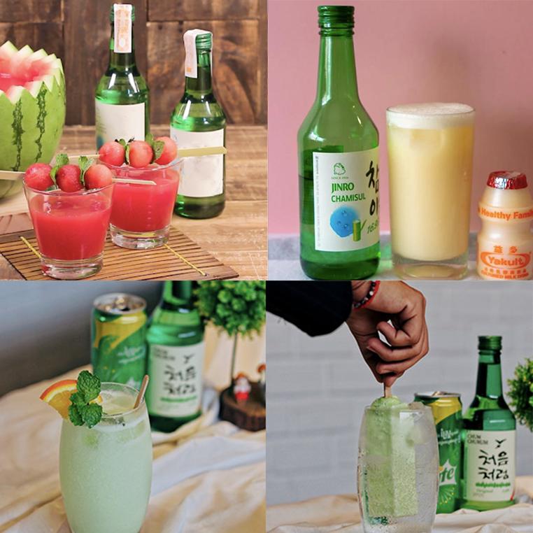 """Thức uống có cồn số 1 mùa nướng lẩu - rượu soju mix vị """"nó lại là đẳng cấp luôn"""""""