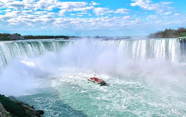 Thác Niagara hùng vĩ vô cùng