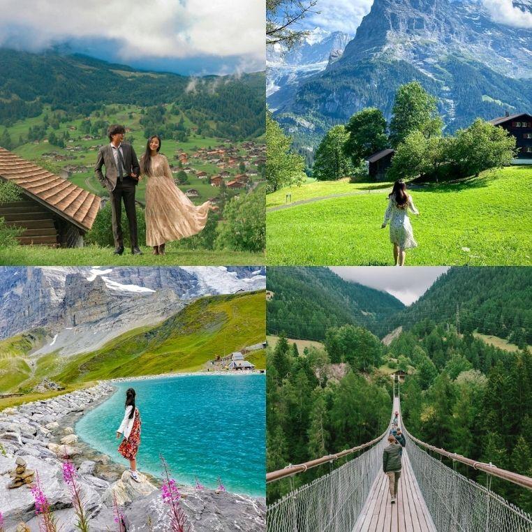 """8 địa điểm check-in đẹp nhất Thụy Sĩ, """"tín đồ mê xê dịch"""" không thể bỏ qua giấc mơ châu Âu này"""