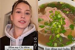 """Chi Pu đi ăn phở Việt ở Mỹ mà không nói """"nửa tây nửa ta"""", mừng nhất là hành động chào đón của quán"""
