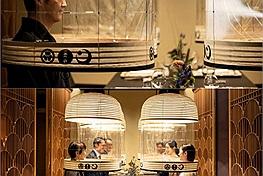 """Mùa dịch đi ăn sao cho an toàn? Cứ nhìn thực khách ăn trong """"lồng đèn giãn cách"""" ở Nhật Bản này thì biết!"""