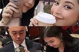 """Chi Pu check in cùng ái nữ tập đoàn Sơn Kim tại đất Mỹ, story tag chính chủ với danh xưng """"người nhà"""""""