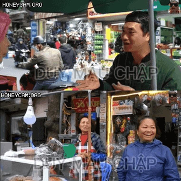 """Duy Nến đụng độ """"bà trùm chặt chém"""" ở chợ Kim Lan: được khen đẹp trai nhưng vẫn phải mua 170k nửa kg giò!"""