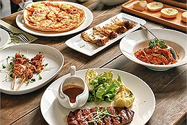 """Della Seta - nhà hàng buffet Hà Nội với combo 13 món Âu xịn xò chỉ 179k/người cho team """"chưa hết tháng đã hết xiền"""""""