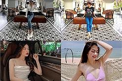 """Visual căng cực của bạn gái tin đồn Ngô Kiến Huy,  thường xuyên đi du lịch chung, tung """"hint"""" ngọt đến sâu răng"""
