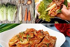 Công thức làm kim chi cay nồng tự nhiên, chua chua giòn giòn chuẩn Hàn Quốc cho bữa thịt nướng mùa đông