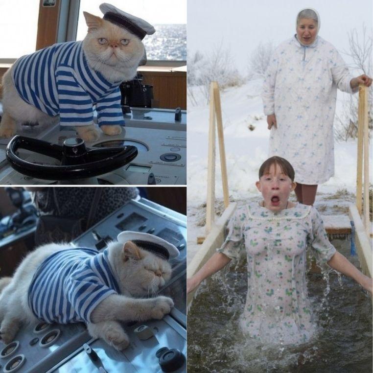 Vô số điều hài hước chỉ có ở nước Nga, hết tắm hố băng đến phong mèo làm… sĩ quan khiến cả thế giới phải tò mò?!