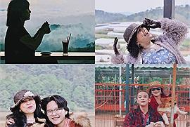 Mẹ U60 cùng hai con phượt từ TP. HCM đến Đà Lạt bằng xe máy, tận hưởng chuyến đi như được trẻ lại lần nữa